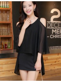 ĐẦM CHIFFON CUT OUT 2 LỚP - MADANI...